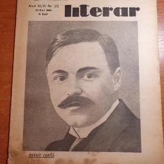 universul literar 25 mai 1930-articol panait cerna