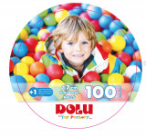 Set 100 bile colorate PlayLearn Toys