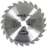 Disc fierastrau circular pt lemn 250x24x30mm Yato YT-6070