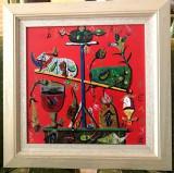 Balanta - Stefan Pelmus, Abstract, Ulei