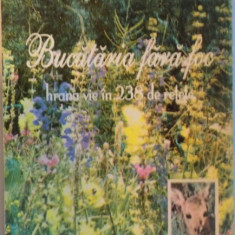BUCATARIA FARA FOC, HRANA VIE IN 238 DE RETE de ELENA NITA IBRIAN