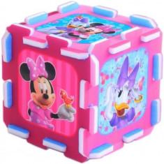 Covor de joaca puzzle spuma Minnie Mouse si Daisy, Trefl