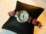 Ceas de dama SEKONDA Crystalla, Quartz, Material textil