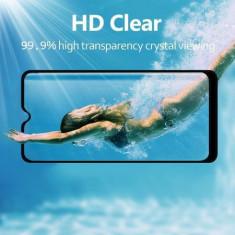 Folie de sticla FULL GLUE Samsung Galaxy A10, GloMax 3D Negru ,lipici pe supraf