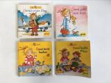lot 4 carticele pt copii Pixi Bucher, limba germana, format  10x10cm