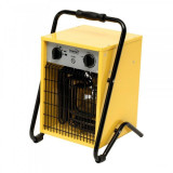 Aeroterma industriala 5000w, 400v, termostat incorporat, 2 trepte de incalzire, ipx4