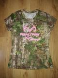 Tricou damă Realtree Xtra Green camuflaj mărimea S