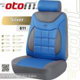 Set huse scaun PREMIUM, cu airbag OTOM SILVER 611