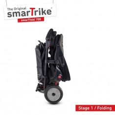 Tricicleta pliabila Smart Trike 8 in 1 STR7 Urban negru
