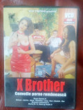 Film XXX  comedie romanesca pt adulti X Brother CD