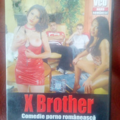 Film XXX  comedie romanesca pt adulti X Brother CD, Alte tipuri suport, Romana