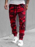Pantaloni jogger bărbați roșii Bolf 0952