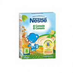 Cereale copii NESTLE 8 cereale bifidus 250g de la 8 luni