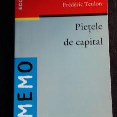 PIETELE DE CAPITAL - FREDERIC TEULON