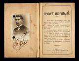 Livret individual inginerului Ion D. Ghica