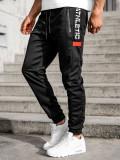Pantaloni de trening negri Bolf JX8122