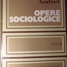 OPERE SOCIOLOGICE VOL.3 SOCIOLOGIE GENERALA - PETRE ANDREI