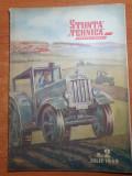 Stiinta si tehnica pentru tineret iulie 1949-canalul dunarea marea neagra