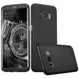 Husa Samsung Galaxy S8 Plus Flippy Full Cover 360 Negru Folie de protectie