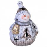 Candela ceramica Om zapada 22 cm x 14 cm Elegant DecoLux