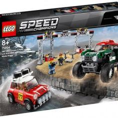 LEGO Speed Champions - 1967 Mini Cooper S Rally si automobil sport 2018 Mini John Cooper