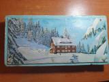 """cutie bomboane fine de ciocolata """" alpin """" -perioada comunista anii '70"""