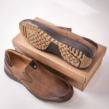 Pantofi maro barbati Ganali