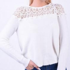 Bluza eleganta White Snow