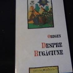 DESPRE RUGACIUNE-ORIGEN-TRAD./MIHAI VLADIMIRESCU-