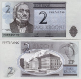 ESTONIA 2 krooni 2007 UNC!!!
