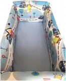 Aparatori laterale protectii pat 120x60 cm Deseda Maxi Povestile bunicii