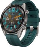 Smartwatch Huawei Watch GT, AMOLED 1.39inch, 16MB RAM, 128MB Flash, Bluetooth, Bratara silicon, Android si iOS (Verde)