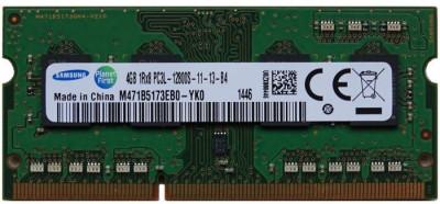 Memorie Laptop Samsung 4GB DDR3 PC3L-12800S 1600Mhz 1.35V M471B5173EB0 foto