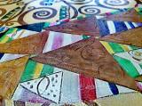 Reproducerea picturii Gustav Klimt Arborele vieții textură manual 120x70cm