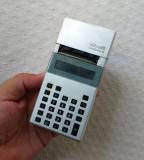 Calculator cu imprimanta Olivetti 9 model 1981, calculator vechi de colectie