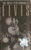 Caseta audio Elvis Presley-The Great Performances, originala, Casete audio, ariola