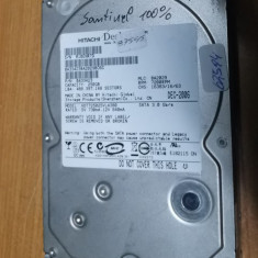 HDD PC Hitachi 250GB Sata Santinel 100% #62594