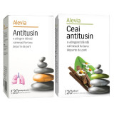 Pachet Antitusin 20 comprimate + Ceai antitusin 20 plicuri, Alevia