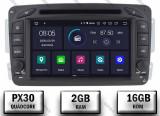 Cumpara ieftin Navigatie Mercedes Benz C-CLASS W203 Vito Viano CLK, Android 9, QUADCORE PX30 2GB RAM + 16GB ROM, 7 Inch - AD-BGWMBCC7P3