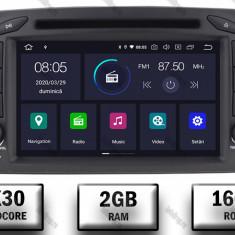 Navigatie Mercedes Benz C CLASS W203 Vito Viano CLK Android 9 QUADCORE PX30 2GB RAM + 16GB ROM 7 Inch AD BGWMBCC7P3
