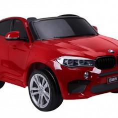 Masinuta electrica, BMW X6 M, rosu metalizat