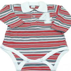 Body cu maneca lunga pentru baieti- Malgosia MGS2R, Rosu