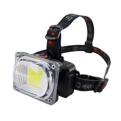 Lanterna de cap LL-6651, reincarcabila, 3 faze iluminare, acumulator inclus foto
