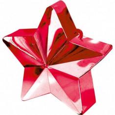 Greutate baloane heliu stea rosie 170g