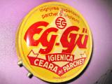 Cutie metalica veche EG-Guban Timisoara 2 ceara ghete.
