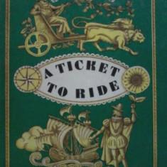 A ticket to ride-Nikolai Osipov (carte rara, limba engleza, bogat ilustrata)