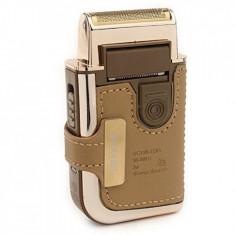 Mini aparat portabil de ras cu acumulator reincarcabil, trimmer