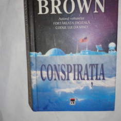 CONSPIRATIA / CARTONATA = DAN BROWN