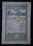 NECULAI V. ADAM, REVISTA MOLDOVEI, ANUL IV, Numerele: 3; 4 si 5, 1924, Botosani