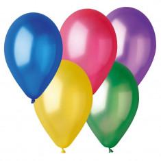 Baloane latex Fluo 26 cm, Multicolore, Gemar GF90.ass